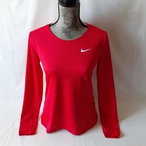 Nike Dri-FIT women's athletic how long sleeve top
